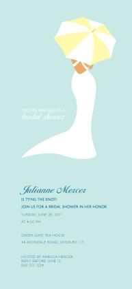 Wedding Shower Invitation - Chic Bridal Shower