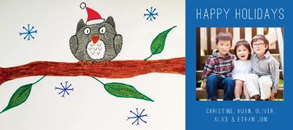 Holiday Cards - Holiday Hoot