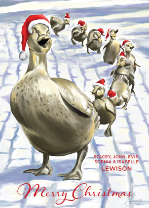 Christmas Cards - Make Way for Ducklings