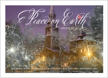 Holiday Cards - peace on earth 2017