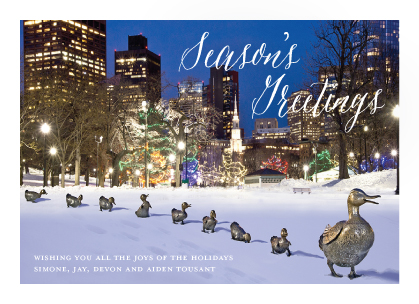 Holiday Cards - Make Way For Duckings 2017
