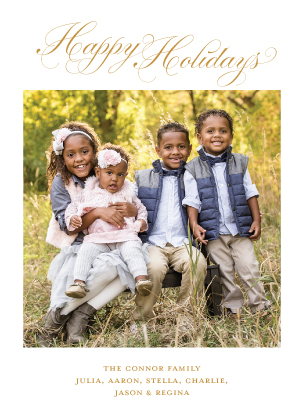 Holiday Cards - Ornament Photo