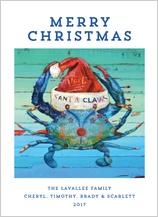 Christmas Cards - santa claws