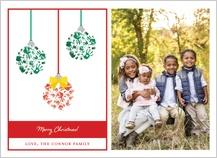 Christmas Cards - handprint ornament