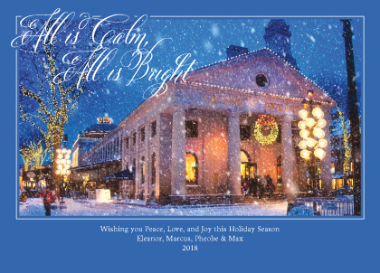 Holiday Cards - All is Calm All is Bright