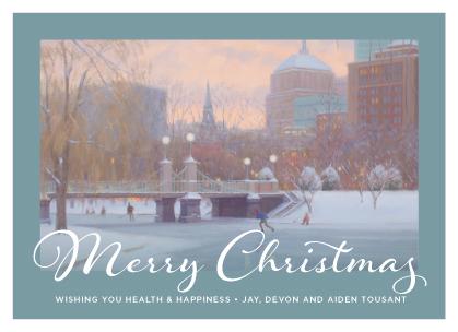 Christmas Cards - Public Gardens