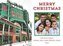 Christmas Cards - winter at fenway