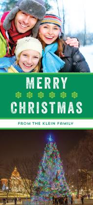 Christmas Cards - Tree Lighting