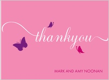 Baby Thank You Card - flutter buzz