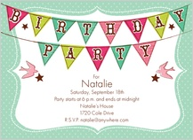 Birthday Party Invitations Cards Birthday Party Announcements