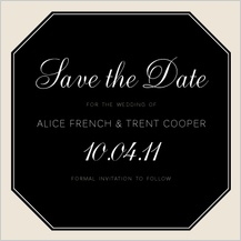 Save the Date Card - at monogram