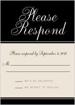 Response Card - at monogram