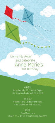 Birthday Party Invitation - Breezy Birthday