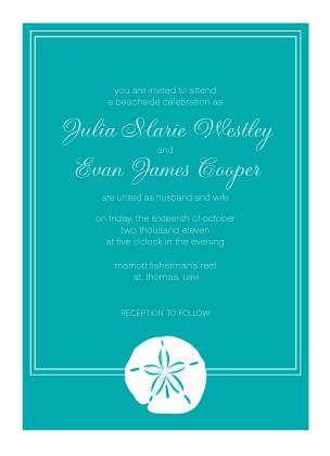 Wedding Invitation - Wedding in the Tropics
