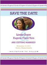 Save the Date Card with photo - you name it