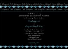 Wedding Invitation - twilight nights