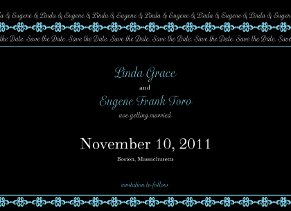 Save the Date Card - Twilight Nights