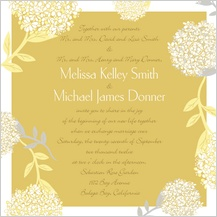 Wedding Invitation - meadowsweet
