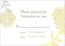 Response Card - meadowsweet