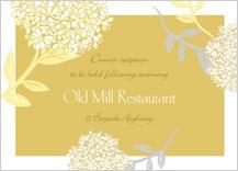 Reception Card - meadowsweet