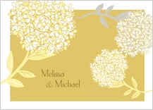 Wedding Thank You Card - meadowsweet