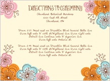 Direction - doodle floral