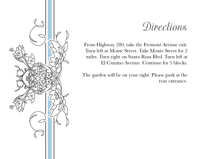 Direction - Lace and Ribbon