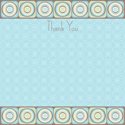 Baby Thank You Card - Spark
