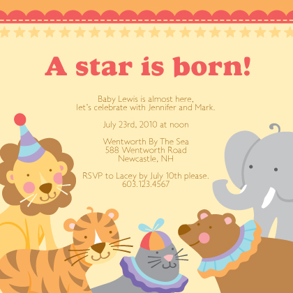 Circus First Birthday Invitations was great invitation template