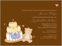 Baby Shower Invitation - having a baby 2
