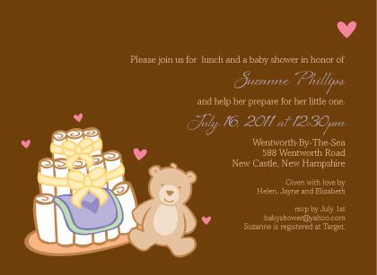 Baby Shower Invitation - Having A Baby 2