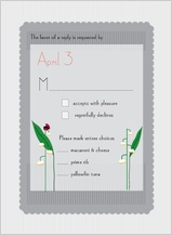 Response Card - lily of the valley