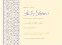 Baby Shower Invitation - sugar pop