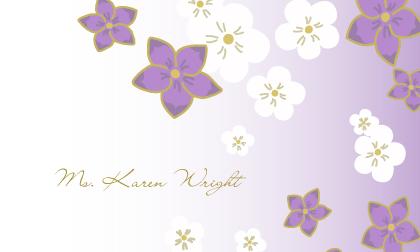 Place Card - Floral Breeze