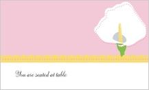Place Card - jubilant calla lilies
