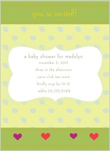 Baby Shower Invitation - cute