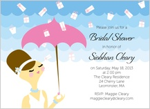 Wedding Shower Invitation - showered in kindness
