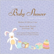 Baby Shower Invitation - little one