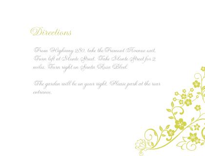 Direction - Floral Lattice
