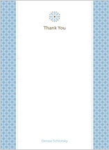 Baby Thank You Card - mommy-to-be