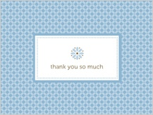 Baby Thank You Card - little sweetie