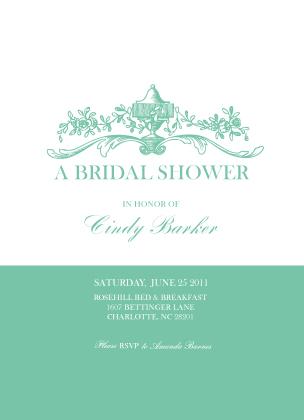 Wedding Shower Invitation - Garden Bridal Shower
