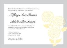 Wedding Invitation - mums wedding invite