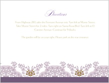 Direction - lacy bouquets