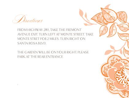 Direction - Rose Garlands