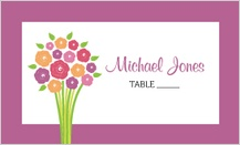 Place Card - Fresh Bouquet