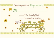 Response Card - bicycle built for two