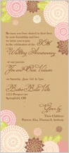 Anniversary Party Invitation - kimono floral anniversary party invite