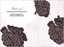 Wedding Shower Invitation - rose garden