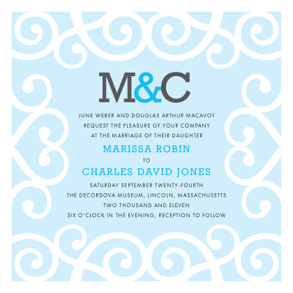 Wedding Invitation - Chanson